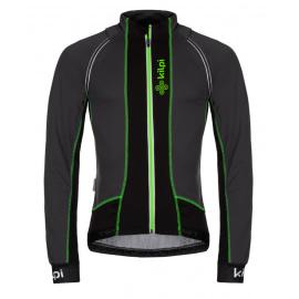 Men's light cycling jacket Zain-m dark gray - Kilpi