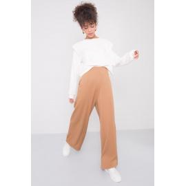 BSL Beżowe spodnie damskie