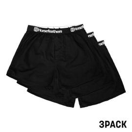 3PACK pánské trenky Horsefeathers Frazier black (AM096A)