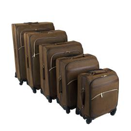 Kangol 4 Wheel Suitcase Set